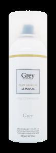 oud vanille argent -grey - 200 ml - homme